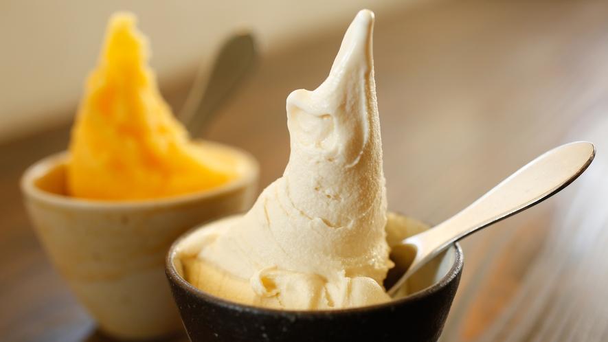 【G・ELM】地元酪農家の新鮮な牛乳と地元農家の果物をふんだんに使ったアイスクリーム(徒歩2分)