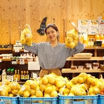【福良マルシェ】島の農水産物や加工品などが充実(徒歩2分)