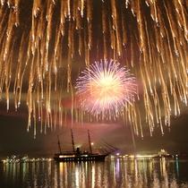 【福良湾海上花火大会 2018年8月14日】関西最大の2尺玉は必見(徒歩3分)