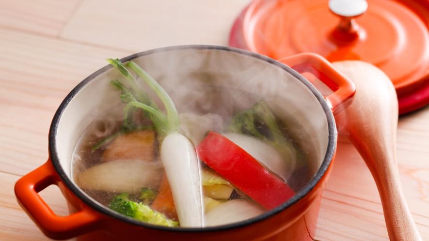 島野菜のポトフ(夕食イメージ)