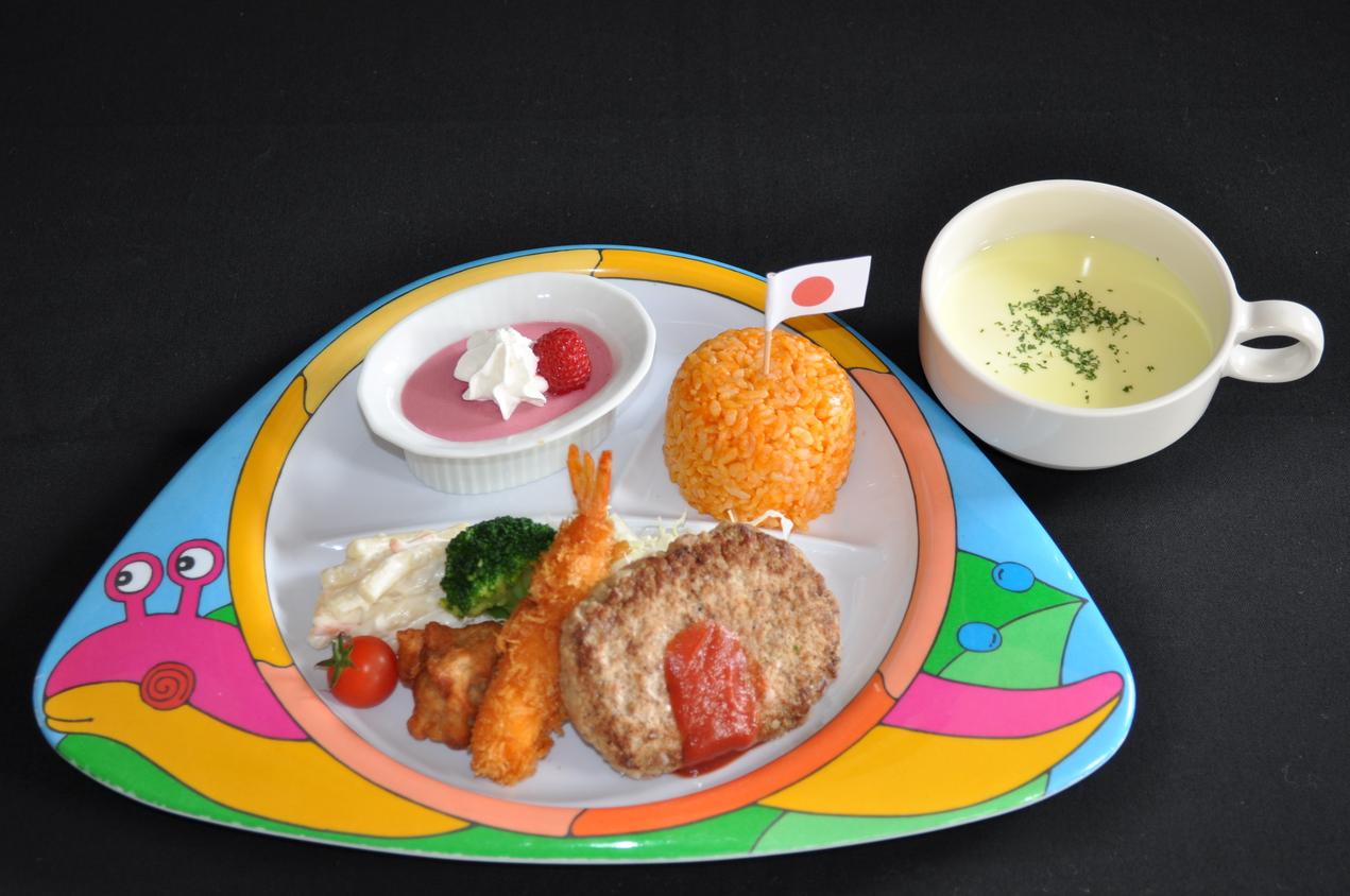幼児向けご夕食の一例。