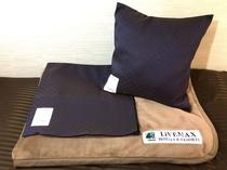◆オリジナル毛布◆全室設置です。