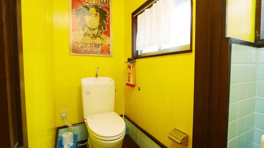 【トイレ】 ウォシュレット付きトイレではございません