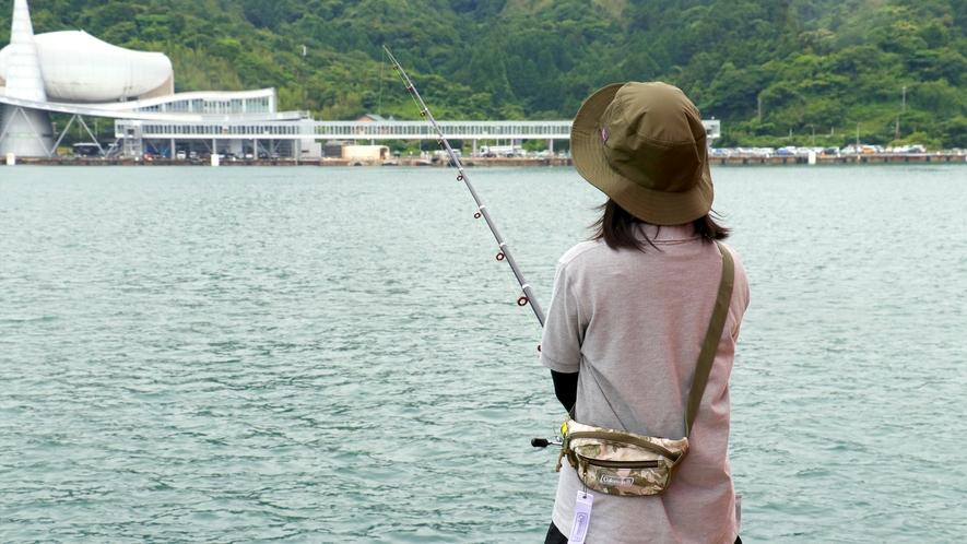 海のすぐそば☆徒歩で釣りに出かけられます♪