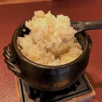 【健康志向の方へ】~土鍋ごはんを玄米で~(朝食)