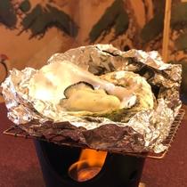 【冬の旬】~牡蠣の蒸し焼き~