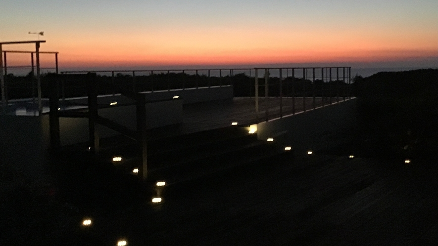 展望デッキ夜景