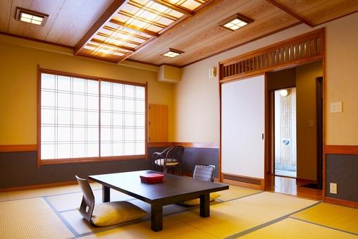 【本館】槇の内風呂付き和室12畳(眺望なし)
