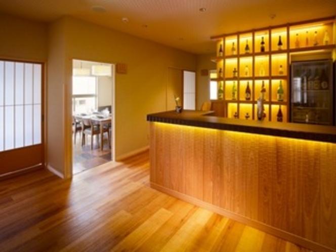 個室食事処「びわの葉」カウンター