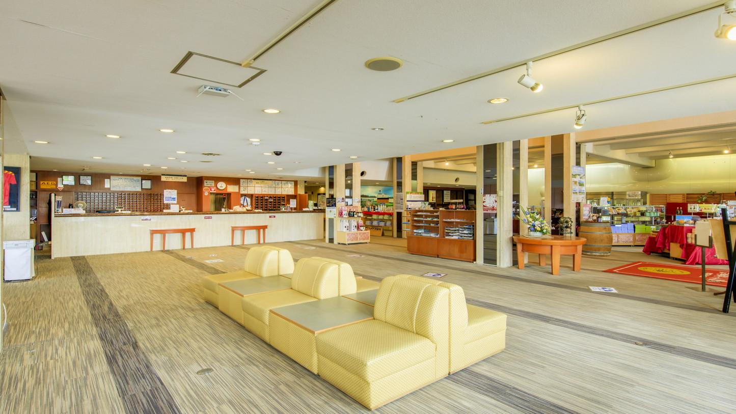 1階 ロビー(ホテルワイナリーヒル)