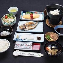 *【朝食】こだわりの製法で仕上げた沼津名物の干物をはじめ、和洋ミックスのバランスが取れた朝食をご用意