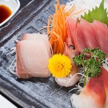 *【夕食刺身】駿河湾の獲れたてな旬の魚介・板前が鮮度に拘ってさばいてご提供