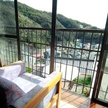 お部屋からの眺望■高台にあるので絶景が楽しめます。