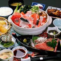 伝統ある地元の漁師鍋【いげんだ煮みそ】!魚介の出汁がたまらない!