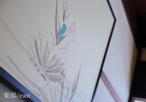【東邸】仏具絵師 給田氏の作品