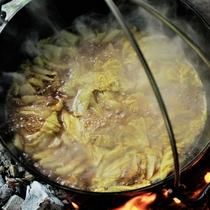 ミルフィーユカレー鍋