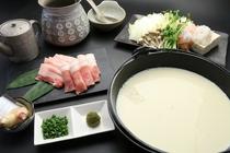 食事例(豆乳しゃぶしゃぶ)