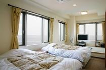 【新館】ツインベッドの和洋室