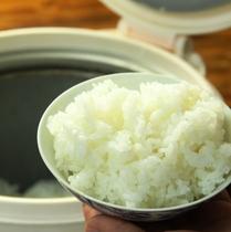 【夕食】厳選米。ひとめぼれ
