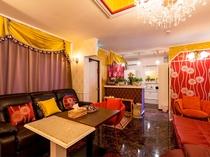 【洋室】外国人住宅を思わせるおしゃれな客室