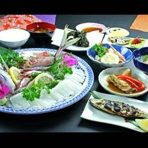 旬の魚を使って様々な調理方法で召し上がって頂きます♪
