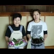 たにひさの料理が美味しい秘訣は女将達の手料理だからです!!