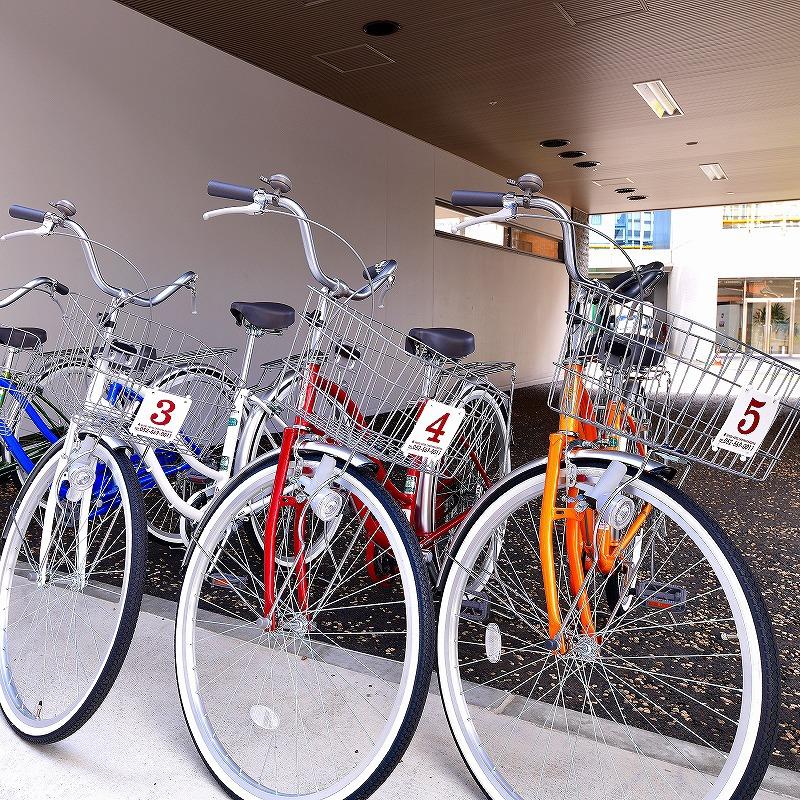 【貸出自転車】2時間以内無料!