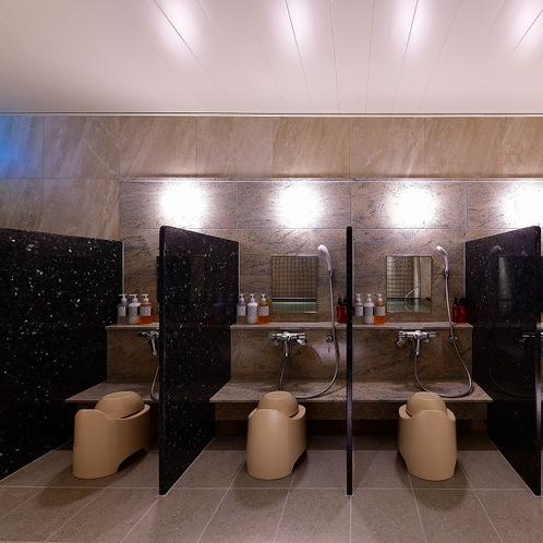 【大浴場】洗い場
