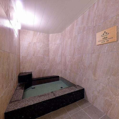 【男性大浴場】水風呂