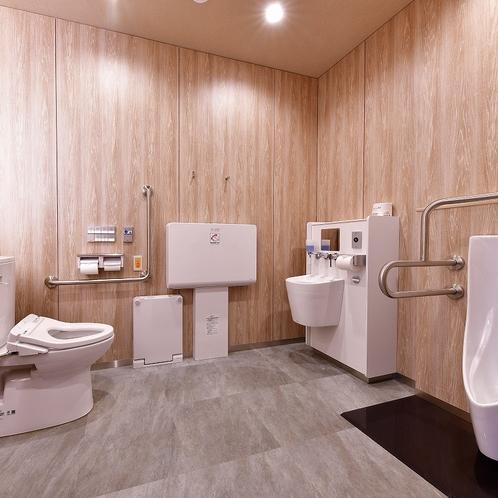 【共有トイレ】1階多目的トイレ