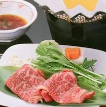 牛しゃぶ(個人鍋)