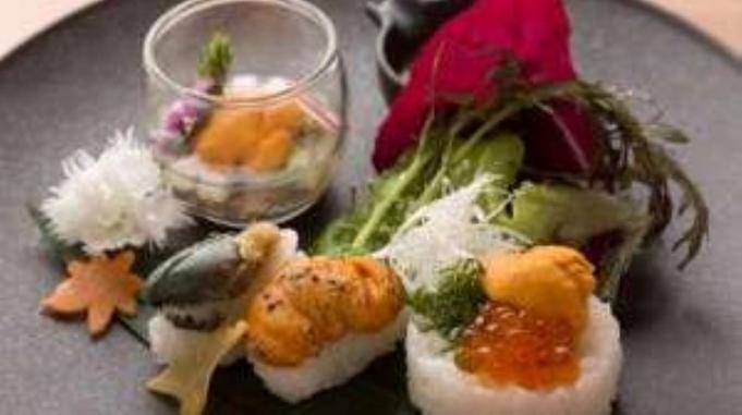 【10月限定】浜中産ウニと鮑の旬一皿プラン/一般客室