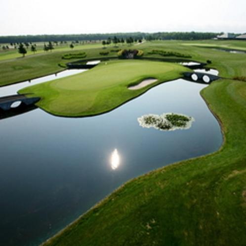 【ザ・ノースカントリーゴルフクラブ】セガサミーカップゴルフトーナメント開催コース当館より車で約30分
