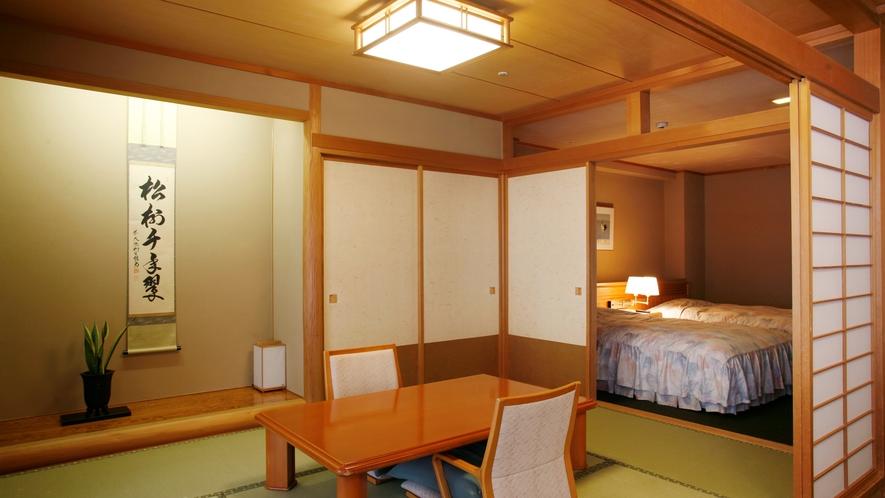 【庭園露天風呂付特別室72平米/「水浅葱」】