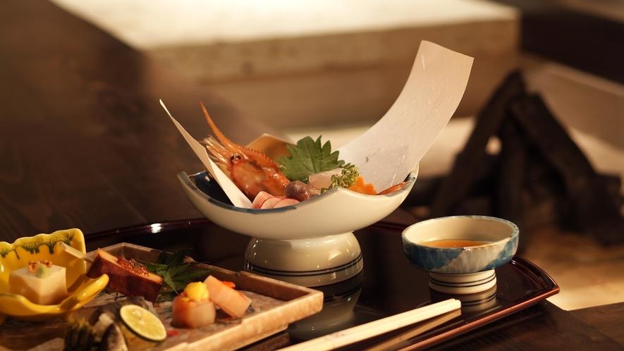 【和食会席/ある日のお料理一例】