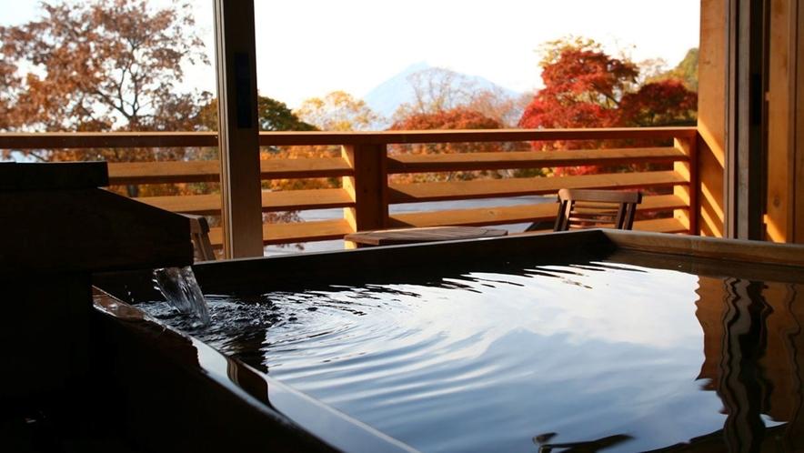 【展望露天風呂付和洋室72平米】