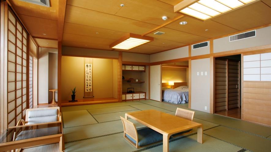 【庭園露天風呂付特別室72平米/「萌葱」】