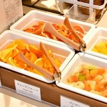 【オレンジ・グレープフルーツ】食後のデザートにいかがでしょうか。