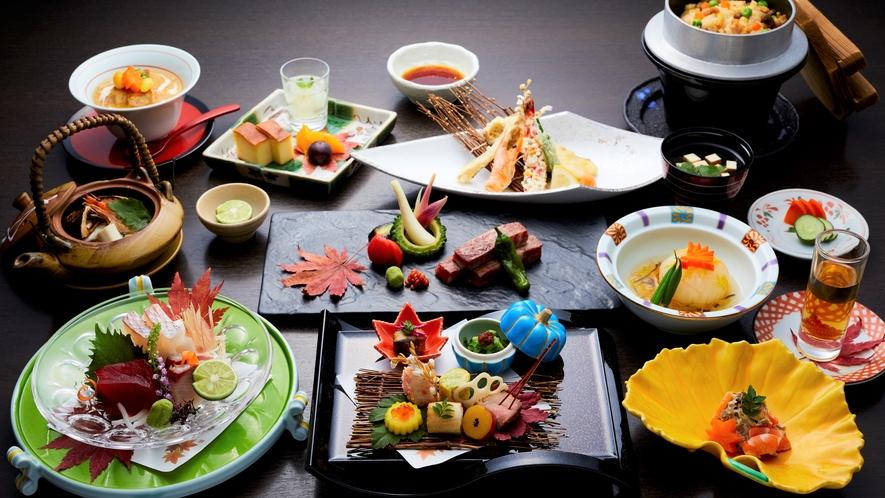 【TOKI】季節ごとのテーマに合わせ旬の食材を頂く上質なお時間をお過ごし頂けます。