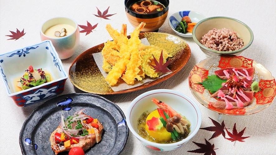 【TOKI】四季折々の旬の食材を生かす熟練シェフの繊細な手仕事で和食と琉球料理をご堪能下さい。