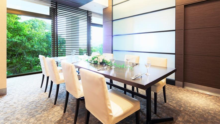 【AVANCER】個室のご用意も御座います。ランチやディナータイムにご利用ください。
