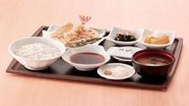 朝食 天ぷら朝定食