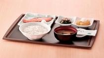 朝食 鮭の朝定食