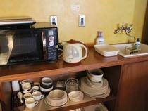 簡易キッチン設備