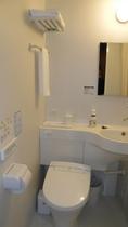 お部屋内ユニットバスのトイレです。