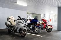 バイク優先地下駐車場