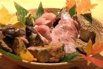 岩魚のお造り