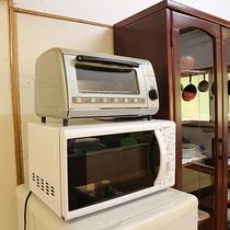 *【共有キッチン】電子レンジやオーブン等ご自由にお使いいただけます。