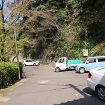 *【第1車場】第3駐車場まであわせると、全部で15台駐車可能です。(無料)