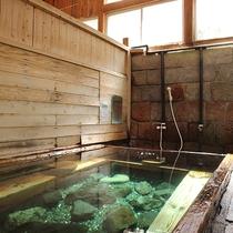*【下の湯】極上のぬる湯でじっくり長く入っていただくのが当館の最適な入浴法♪